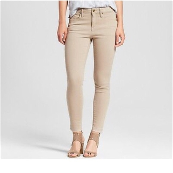 Mossimo Supply Co. Denim - Mossimo High Rise Skinny Jean